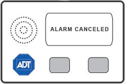 ADT alarm being canceled