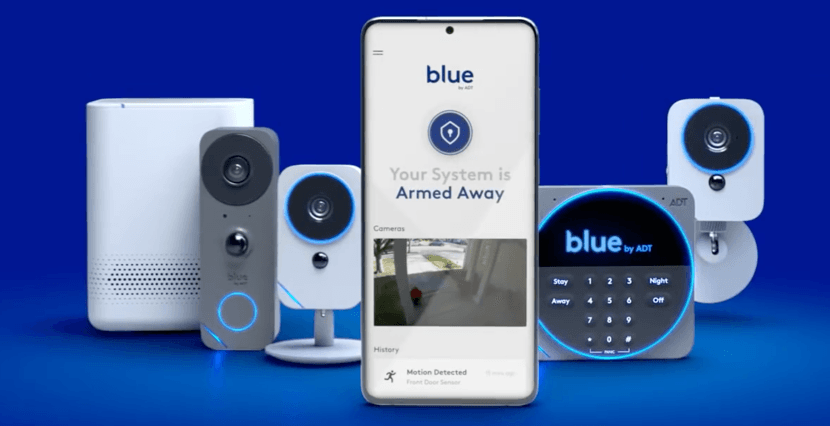 ADT Blue app and equipment