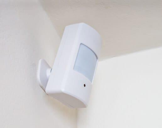 Installed ADT motion detector
