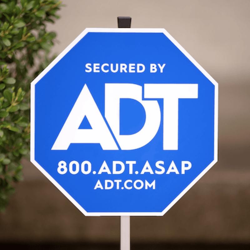 ADT sign