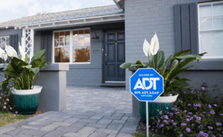 Image of ADT yard sign