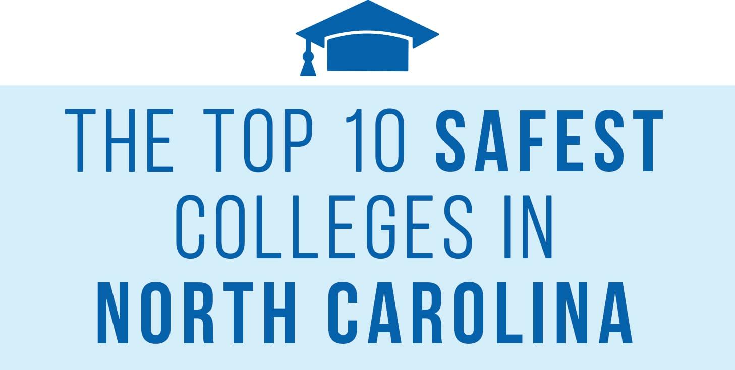 safest college campuses NC header
