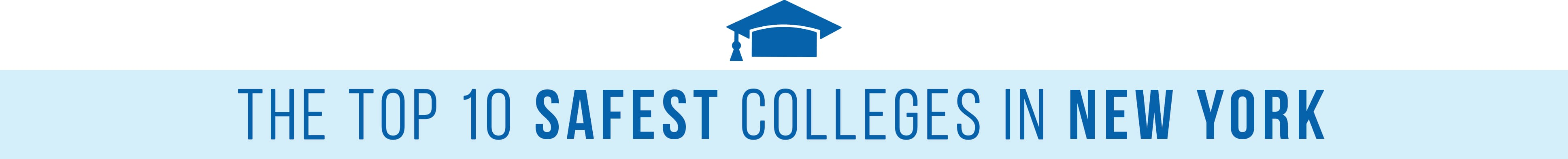 safest college campuses NY header