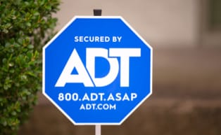 ADT Security sign